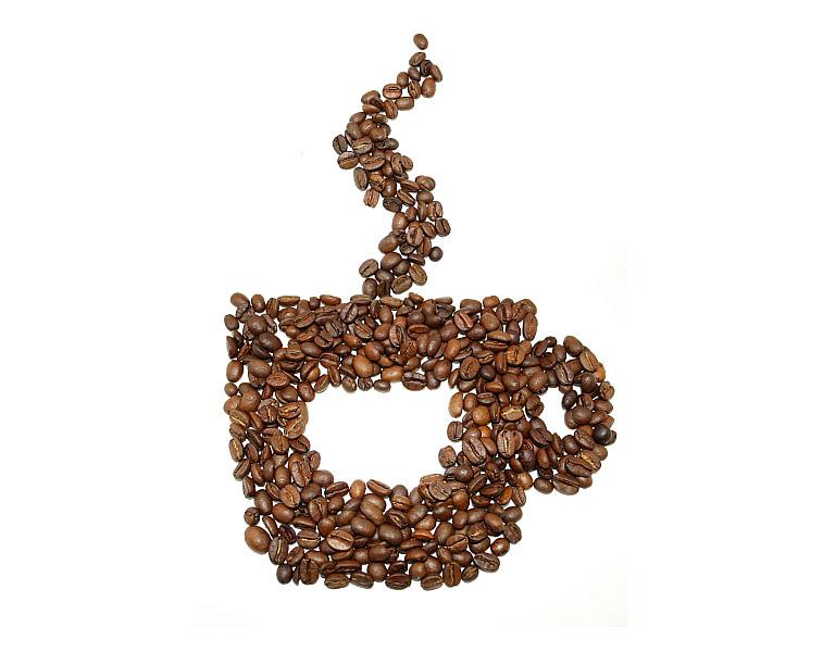 Kaffeeduft Kaffeebohnen Kaffeetasse