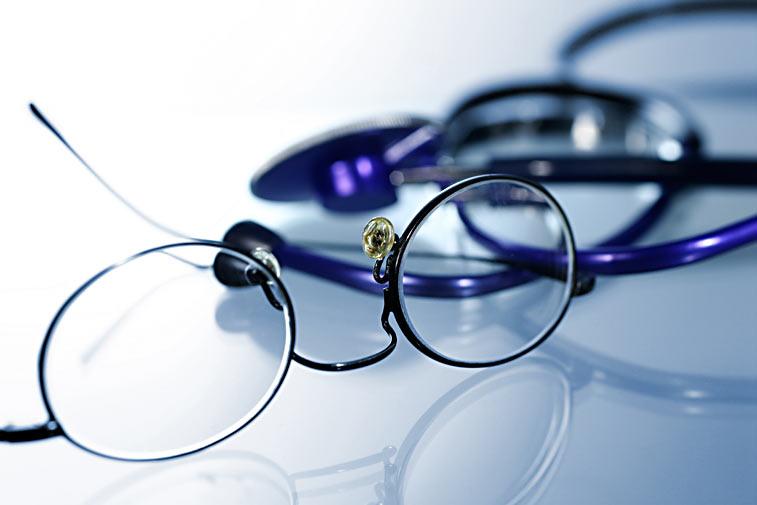 Lesebrille Stethoskop