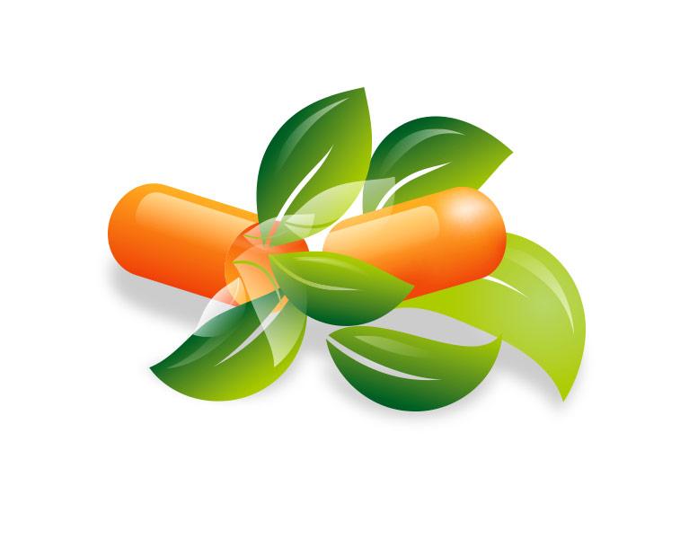 Kapseln Blätter Nahrungsergänzung Arzneimittel