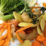Gemüse Küchenabfälle Biomuell Bio-Abfall