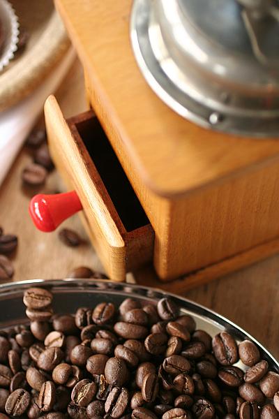 Kaffeemühle Kaffeebohnen