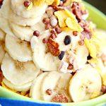 Cornflakes Bananen Müsli