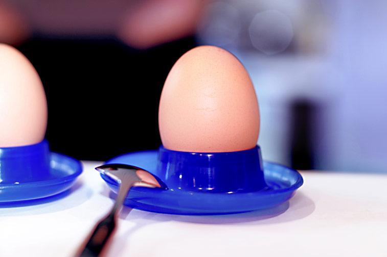 Frühstückseier Eierbecher