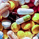 Medikamente Tabletten Kapseln Glas