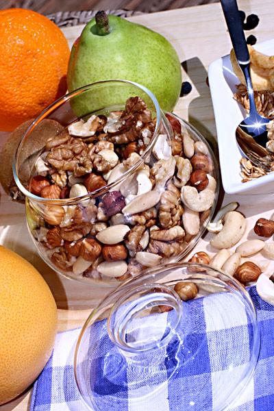 Nüsse Nussmischung Obst
