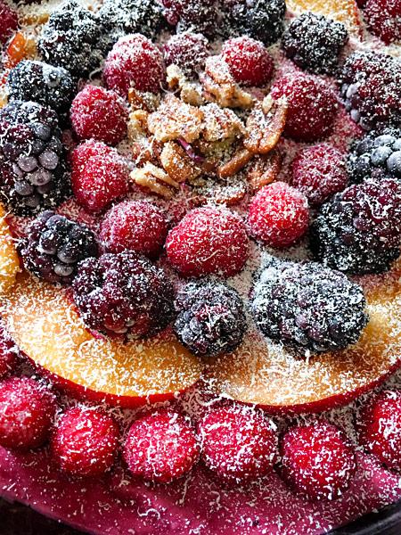 Rohkost-Kuchen Himbeertorte Brombeertorte