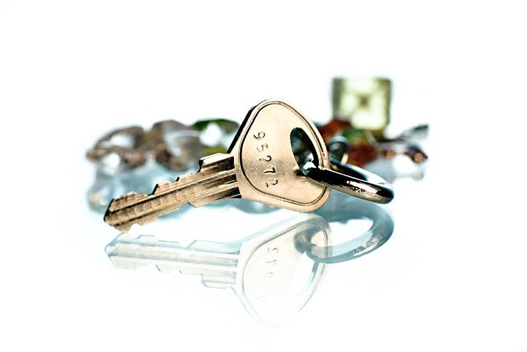 Schlüssel-Nummer Schlüsselanhänger