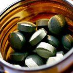 Spirulina Chlorella Algen-Tabletten