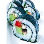 Veganes Sushi Gemüse