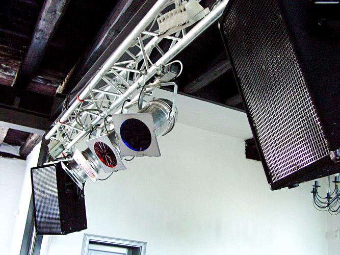 Bühnenscheinwerfer Lautsprecher