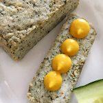 Basilikum Tofu mit Senf und Gurke