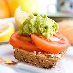 Guacamole Avocado Tomaten Brötchen