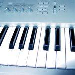 Keyboard blau
