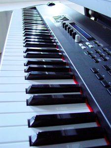 Keyboard Tasten Heimorgel