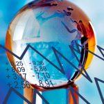 Weltkugel Börse