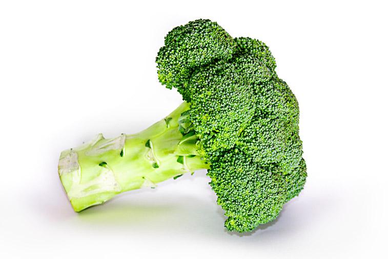 Brokkoli liegend