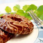 Spritzgebäck Schokoladenkringel