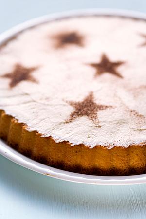 Sternkuchen Sahne Kakao Sterne Kuchen