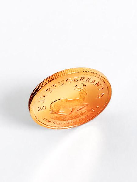 Krügerrand Gold-Münze viertel Unze