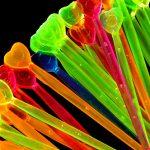 Party-Picker Spiesse Neon