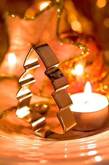 Weihnachtsplätzchen Ausstechförmchen Tanne