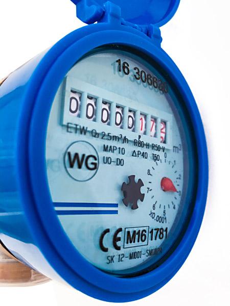 Wasseruhr Wasserzähler