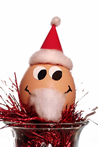Nikolaus Ei Weihnachtsmann Weihnachts-Ei