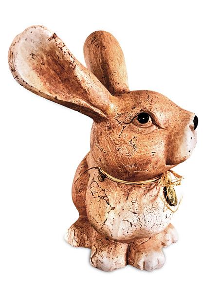 Osterhase Keramik Ostern Dekoration