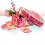 Valentinstag Muttertag Herz Geschenk Rosen