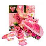 Valentinstag Muttertag Hochzeits-Geschenk Rosen Herz