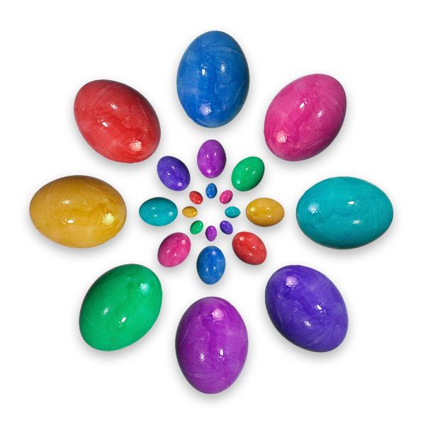 Ostereier Kranz Ostern Eierkranz Mandala