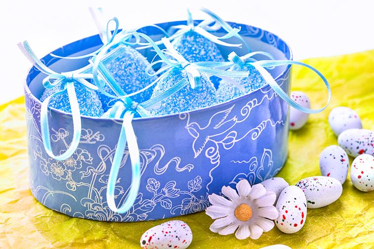 Ostereier Vogeleier Geschenk-Karton Ostern Dekoration