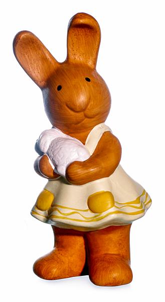 Osterhase Hasen-Mädchen Osterlamm Ostern Dekofigur