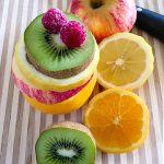 Obst Früchte Obststapel essen
