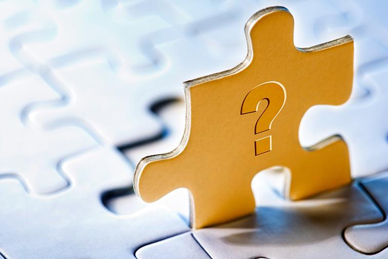 Puzzle Puzzleteil Fragezeichen