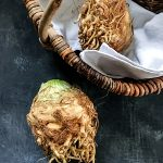 Sellerieknollen Knollensellerie Gemüse-Korb