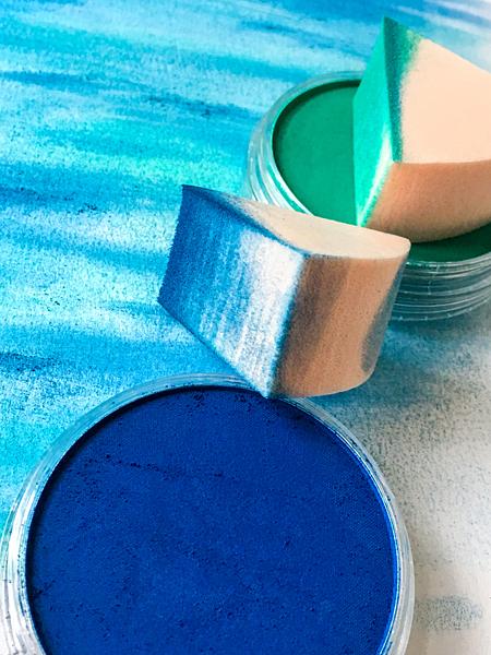Kunst Künstler-Farben Pan-Pastell Kreidefarbe malen Künstlerbedarf