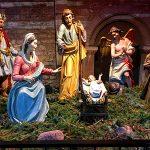 Weihnachten Krippe Dom Mainz Maria Josef Jesuskind