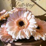 Alles Liebe zum Muttertag Gerbera Blumenstrauss Landhaus Shabby
